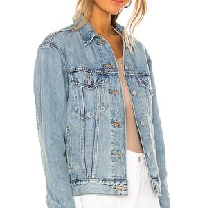 Levi's Ex-Boyfriend Trucker Jacket Denim Jean